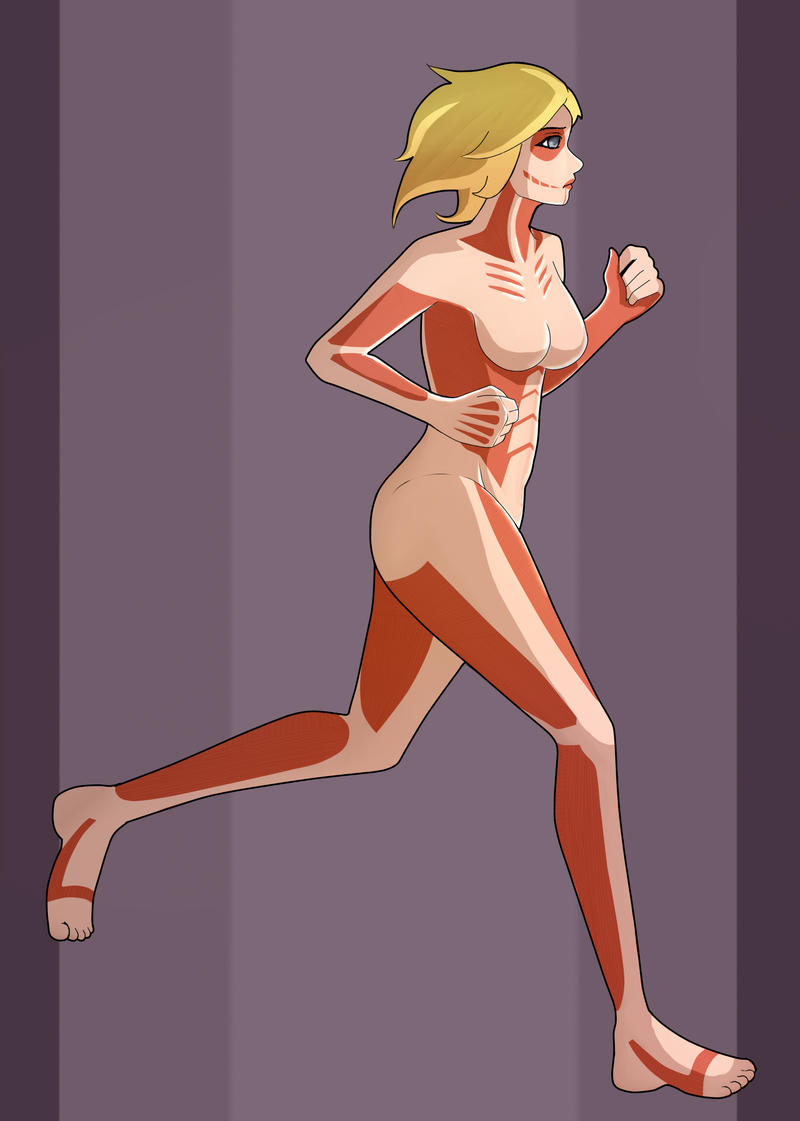 The Female Titan by omgOVER9000