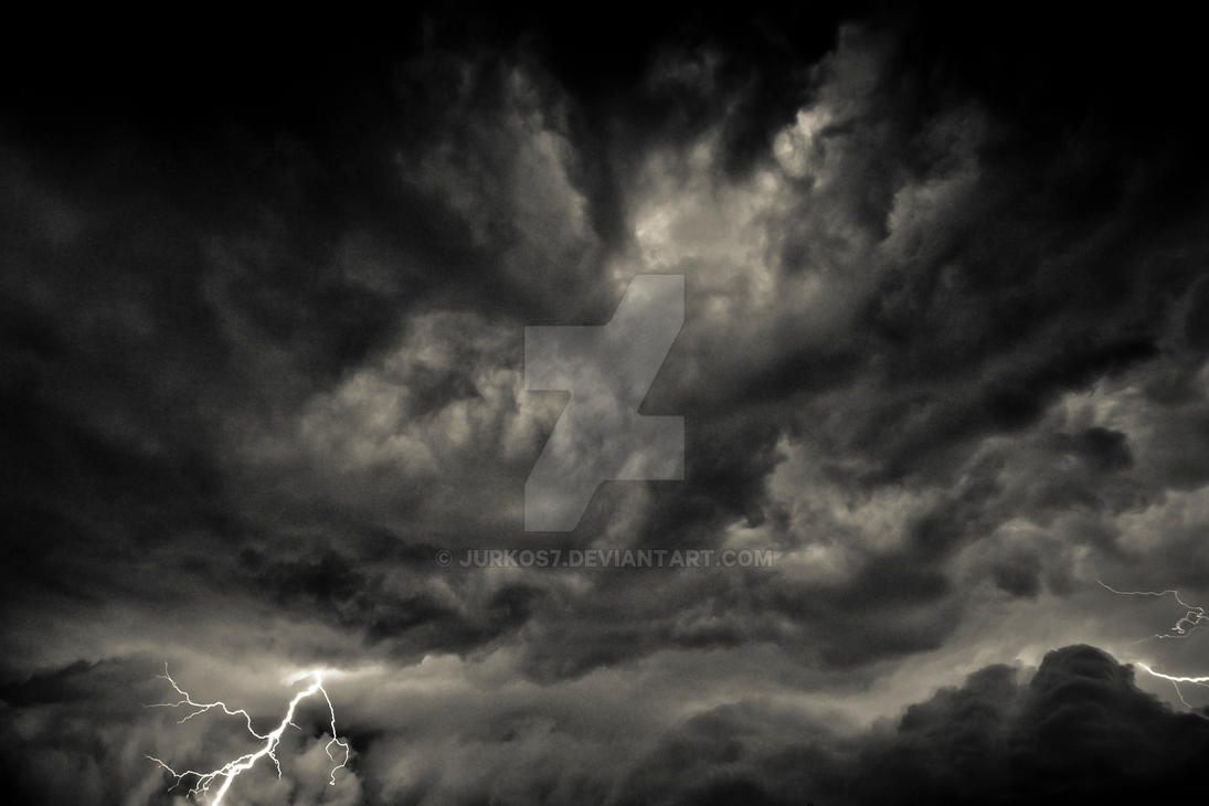 Lightning Dark Clouds by Jurkos7 on DeviantArt