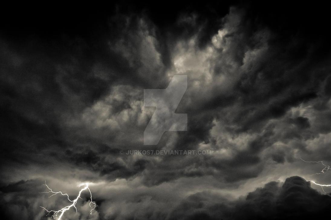 Lightning Dark Clouds by Jurkos7 on DeviantArt