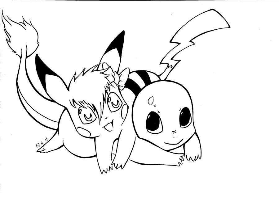 how to draw pikachu digital art