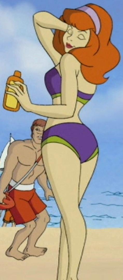 daphne blake nude in beach