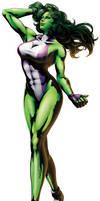Me as She Hulk