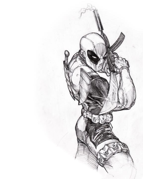 Deadpool by jjakec