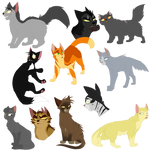 Warrior Cat Batch 1