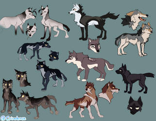 Some wolf concepts