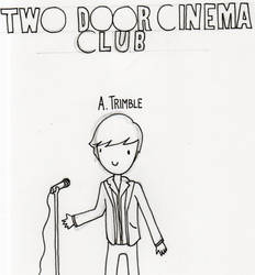 Two Door Cinema Club - Alex Trimble sketch by WhaleAndTheNoah