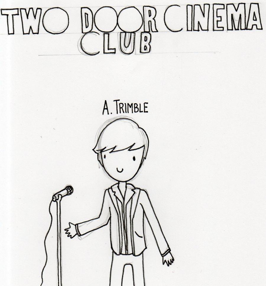 Deviantart coloring clubs - Two Door Cinema Club Alex Trimble Sketch By Whaleandthenoah