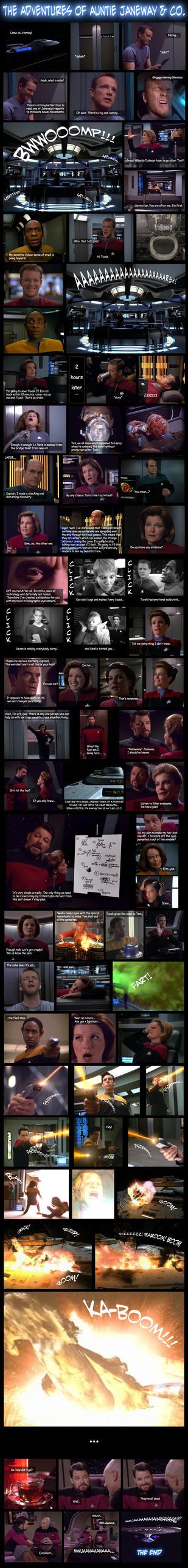 Star Trek: Voyager by Walker82