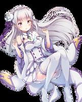 Emilia ( Re:Zero ) by AryeSmye