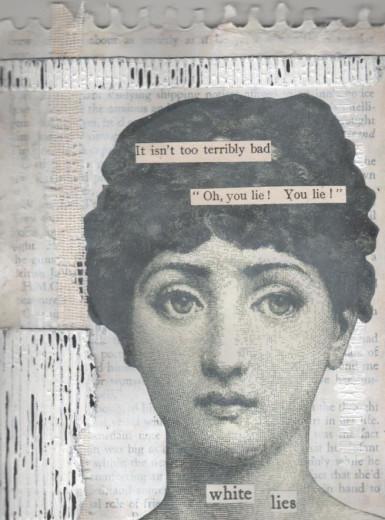 White Lies by magdalenamoon