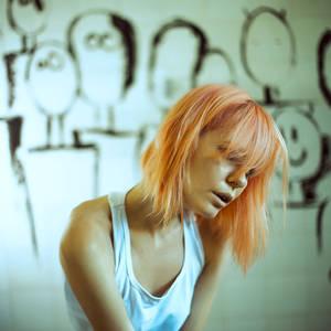 schizophrenia by emptyredhead