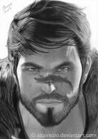 Dragon Age II - Garrett Hawke by altairezio