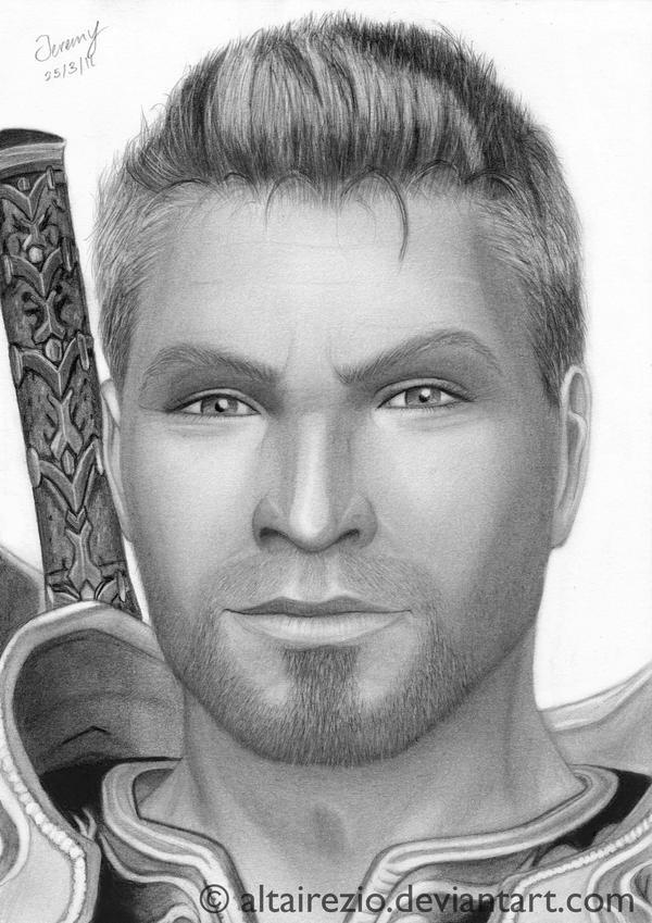 Dragon Age - Alistair Theirin by altairezio