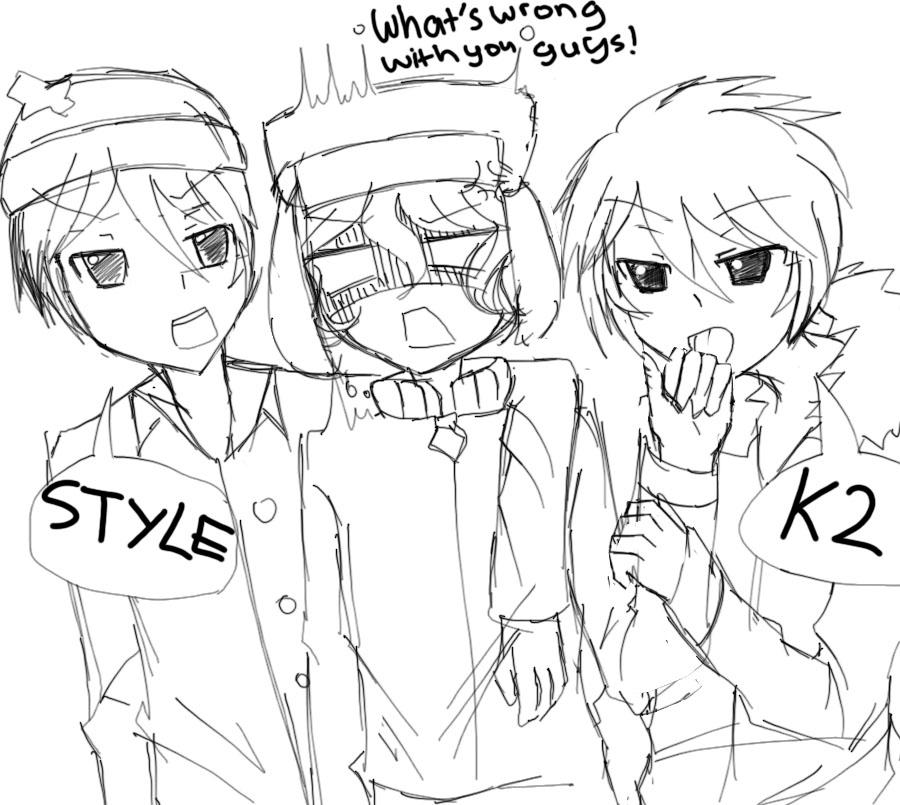 Style vs K2 sketch by Moochiechan