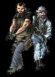 Them SAS boys by CreativeImages