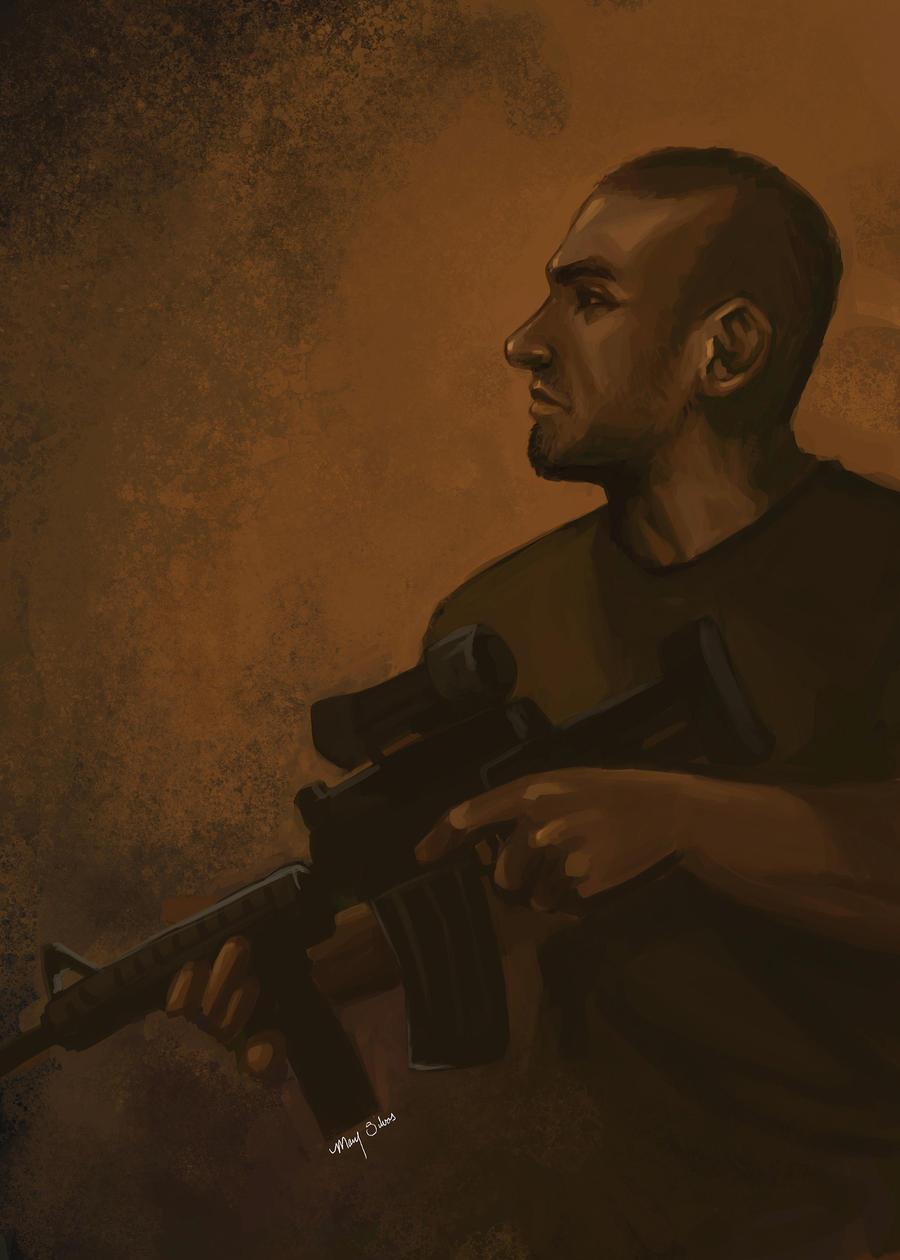 Nikolai - Modern Warfare by CreativeImages