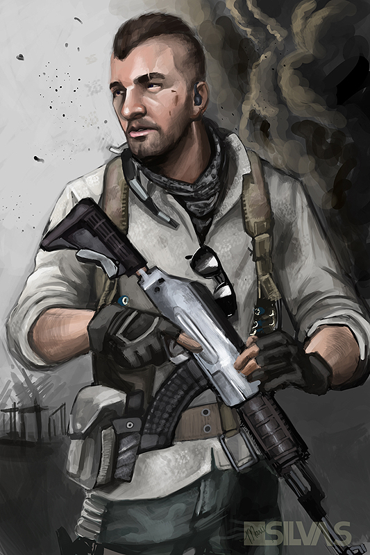 Not another MW3 fanart by CreativeImages on DeviantArt