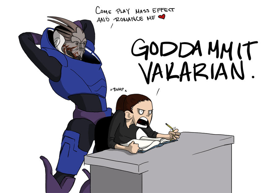 women want have with garrus