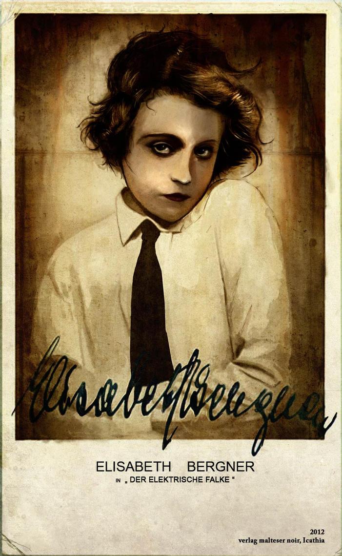Elisabeth Bergner Card by Aristagon