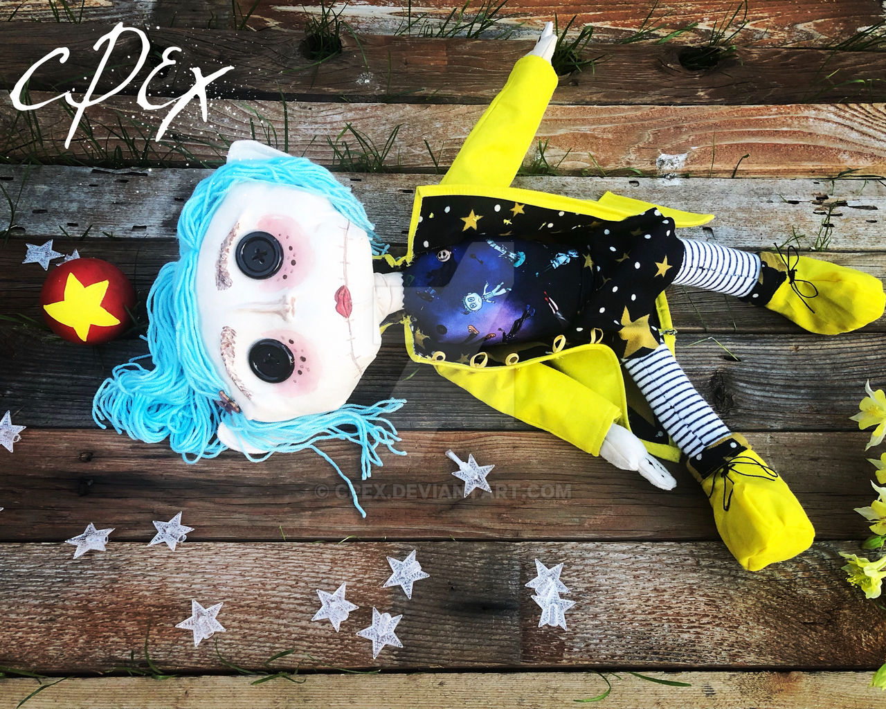 Another Coraline Jones Doll Stay Tuned For By Cpex On Deviantart
