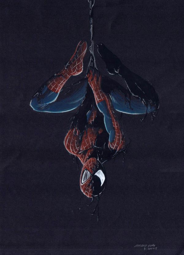 Black Poison - Spider-Man by mariocau