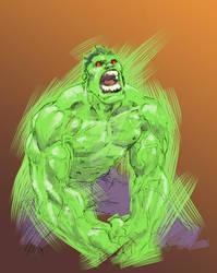 Hulk outburst