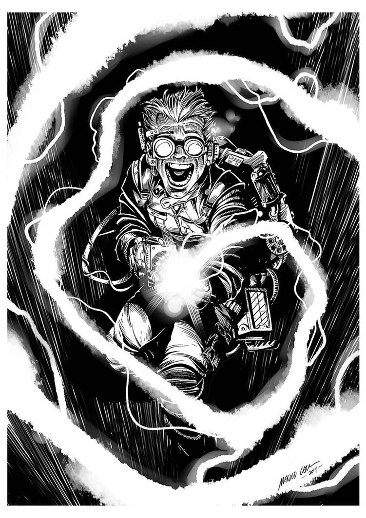 Ghostbusters by mariocau