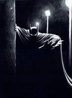 Batman, the Watcher by mariocau