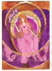 Art Nouveau - Coloured by 3lda