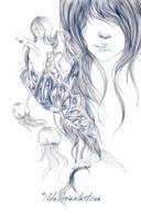 Mermaid's eyes by 3lda