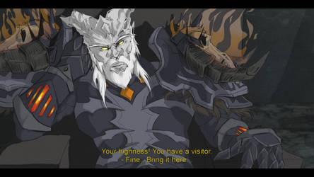 Grumpy leader by Rayhust
