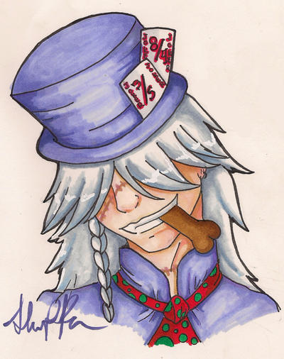 Mad as a Hatter by khrazah