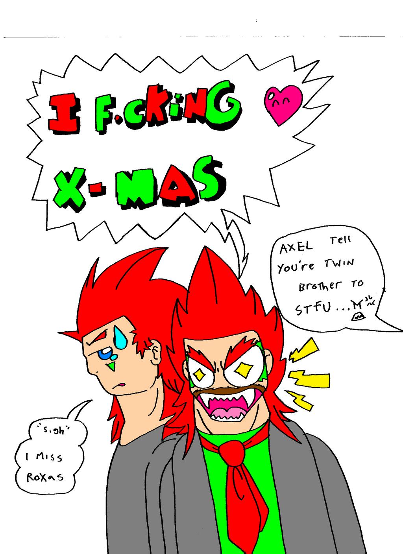 I FUCKING LOVE CHRISTMAS Kingdom Hearts crossover by Ukitake1984 ...