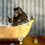 Monkey Bath by Moryah