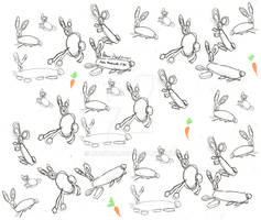 Bunnies by Peter