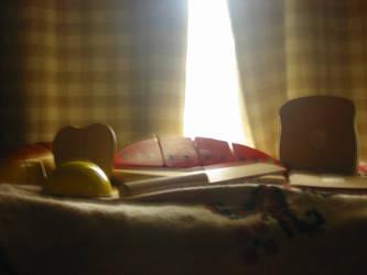 Still Life in Toys by Meowyiff