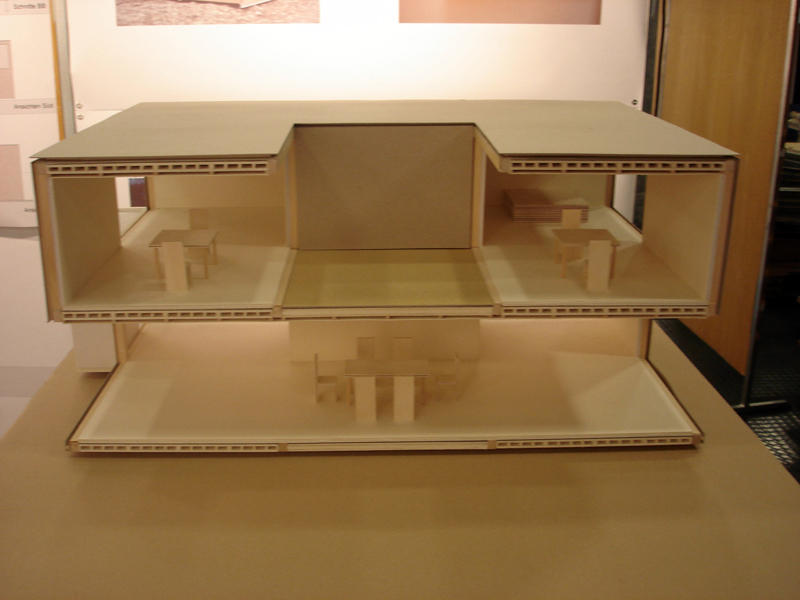 House 4x4 section model