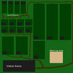 RoseWood Stables Pasture Map