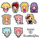 Mini Icon Batch 2 by SweetLilyTea