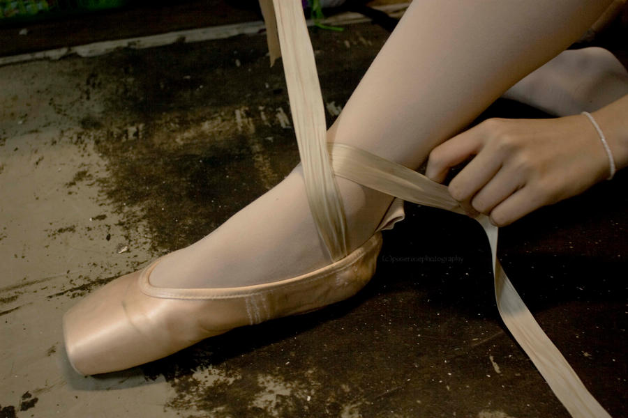 Pointe shoe essay