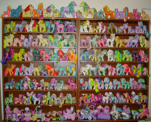 'My MLP Collection' 3D Pic- G1 by Gypsy-Nights