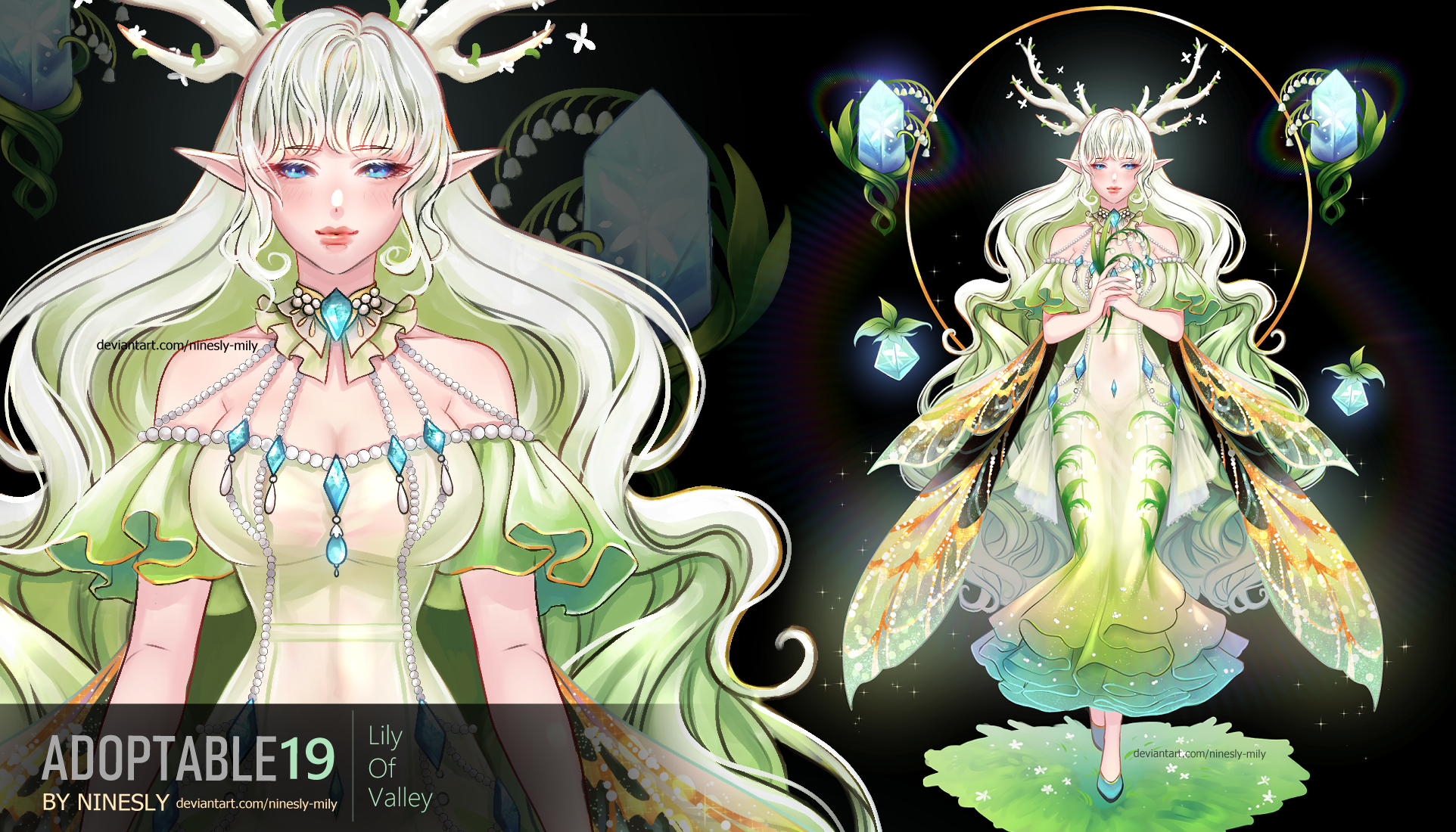 [Closed]Adoptable #19 Lily Of Valley