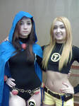 Raven and Terra:Teen Titans