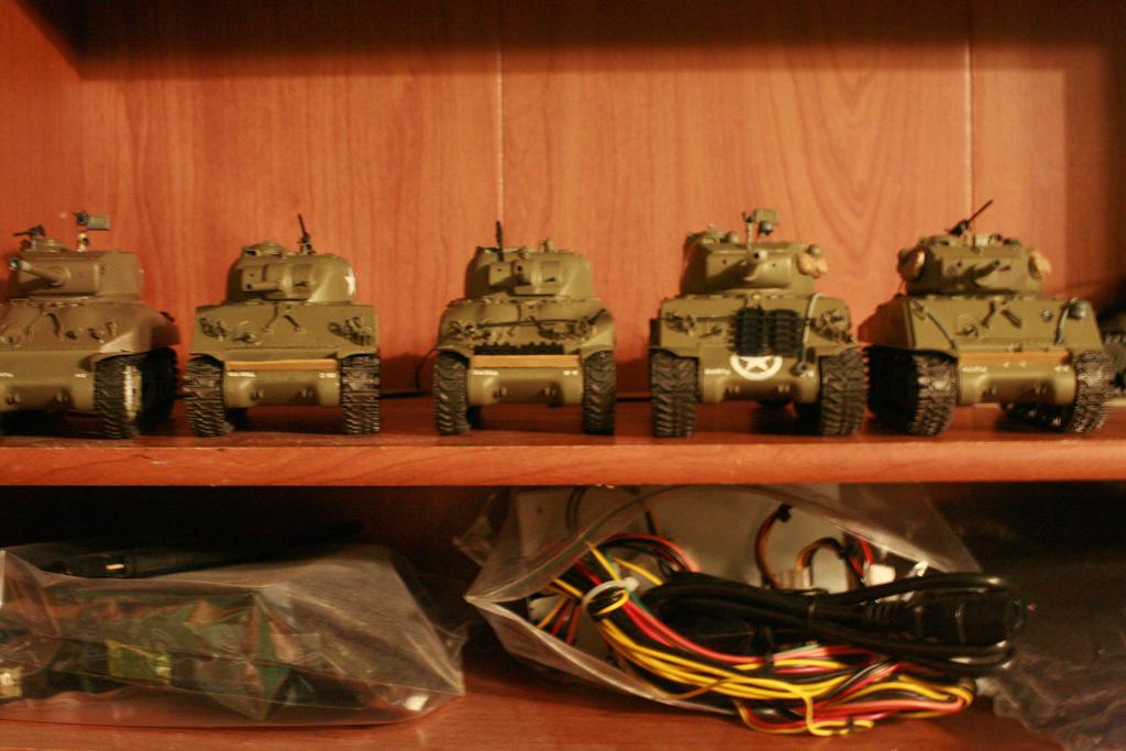 1:35 Sherman Platoon by Tserra-T on DeviantArt