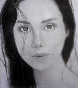 CATRIONA GRAY BnW PORTRAIT: