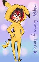 (Happy B-day, Boxie) Rhikachu.