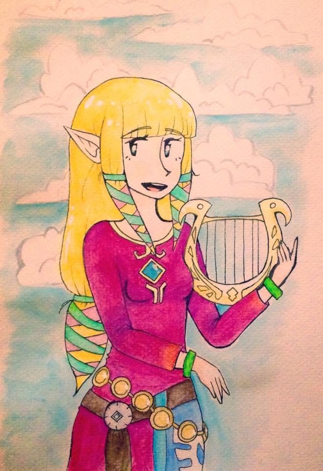 Zelda by joannawentbananas