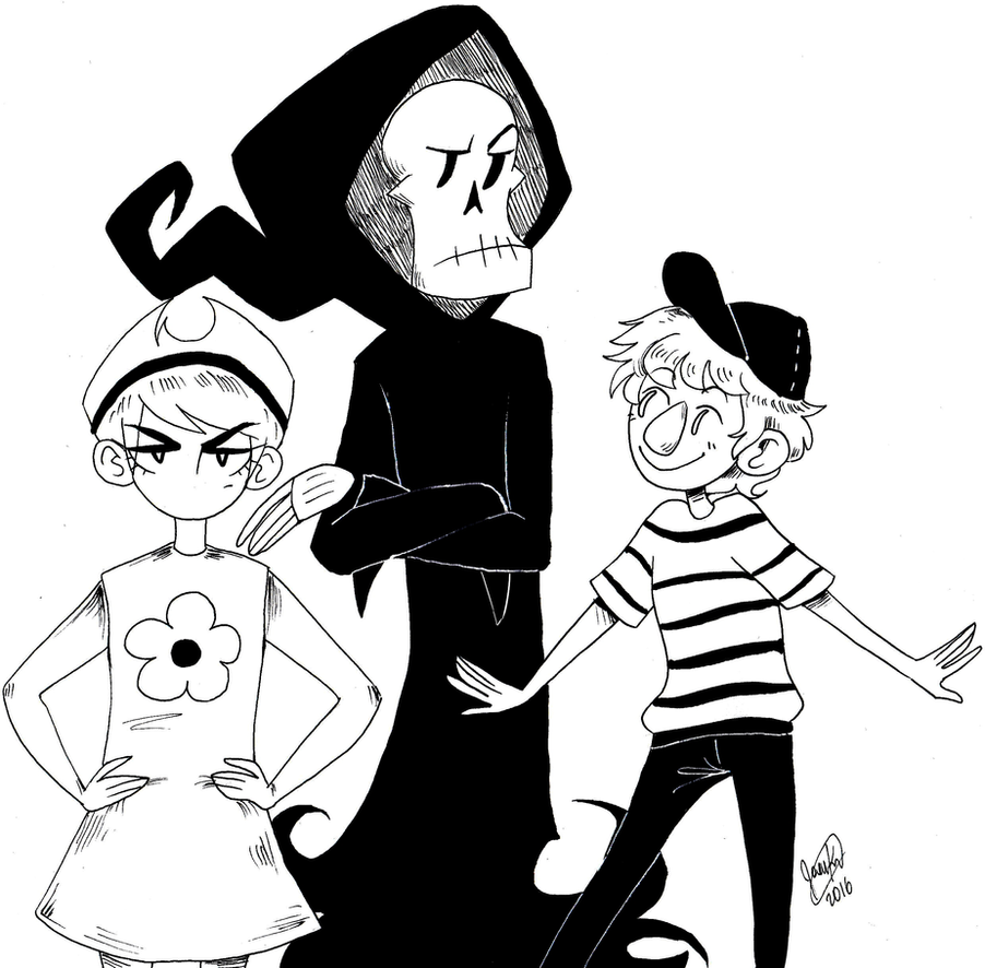 Grim Adventures Of Billy And Mandy By Joannawentbananas On