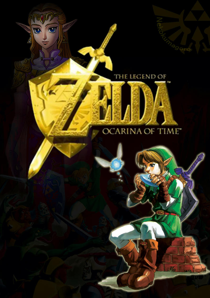 Zelda Ocarina Of Time Wallpaper By Nekokumagoro On Deviantart
