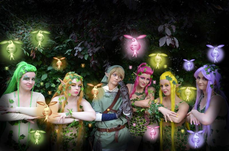Great Fairy- My cosplay group!^^ by Nekokumagoro